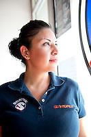 Edith Yahaira Saribia R. Hardware store owners in Mexicali, Baja California, and San Luis Rio Colorado, Sonora.  Mexico