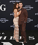 a _Danielle Jonas, Kevin Jonas 008 arrives at the Premiere Of Amazon Prime Video's Chasing Happiness at Regency Bruin Theatre on June 03, 2019 in Los Angeles, California.