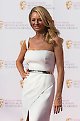 London, UK. 8 May 2016. Presenter Tess Daly. Red carpet  celebrity arrivals for the House Of Fraser British Academy Television Awards at the Royal Festival Hall.