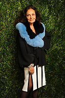 NEW YORK, NY - NOVEMBER 6: Diane von Furstenberg at the 14th Annual CFDA Vogue Fashion Fund Gala at Weylin in Brooklyn, New York City on November 6, 2017. <br /> CAP/MPI/JP<br /> &copy;JP/MPI/Capital Pictures