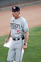 Pat Casey, head coach - Oregon State Beavers, during a game against the Arizona State Sun Devils at Packard Stadium, Tempe, AZ - 05/21/2010.Photo by:  Bill Mitchell/Four Seam Images.