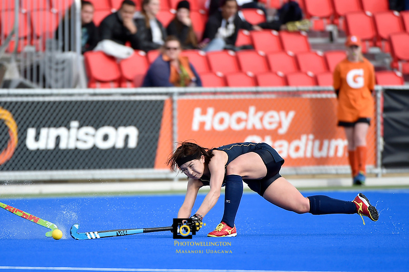 International Festival of Hockey -  The Hawke's Bay Cup Argentina v Japan at Hastings Regional Sports Park, Hasting, New Zealand on Tuesday 14 April 2015.<br /> Photo by Masanori Udagawa. <br /> www.photowellington.photoshelter.com.