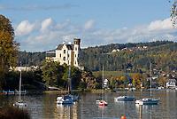 Oesterreich, Kaernten, Reifnitz am Woerthersee: Schloss Reifnitz - Klein Miramar in der Reifnitzer Bucht | Austria, Carinthia, Reifnitz at Lake Woerth: castle Reifnitz