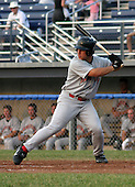July 2, 2003:  Mikela Olsen of the Jamestown Jammers during a game at Dwyer Stadium in Batavia, New York.  Photo by:  Mike Janes/Four Seam Images