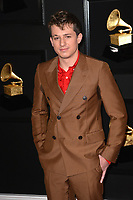 LOS ANGELES, CA - FEBRUARY 10: Charlie Puth at the 61st Annual Grammy Awards at the Staples Center in Los Angeles, California on February 10, 2019. Credit: Faye Sadou/MediaPunch