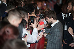 Daniel Radcliffe attends 'Horns' UK Premiere at the Odeon West End in London, England. 20th October 2014