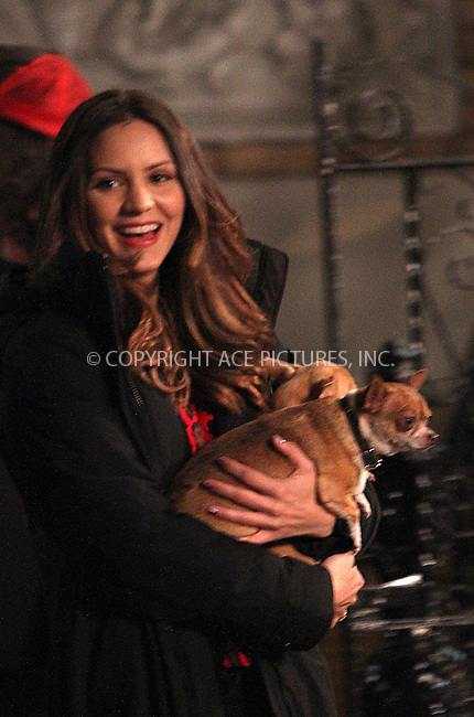WWW.ACEPIXS.COM....October 10 2012, New York City....Actor Katharine McPhee on the set of the TV show 'Smash' on October 10 2012 in New York City....By Line: Zelig Shaul/ACE Pictures......ACE Pictures, Inc...tel: 646 769 0430..Email: info@acepixs.com..www.acepixs.com