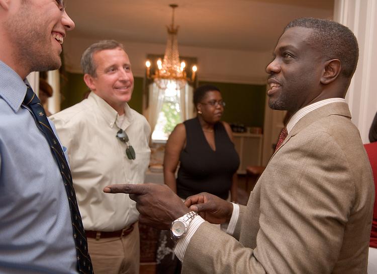 18325Ralph Amos Farewell reception....Jim Harris, Dr. Ricky Suk & Ralph Amos