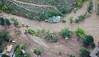 Lyons Colorado flood damage