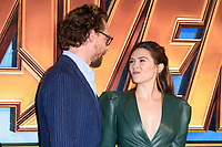 "Tom Hiddleston and Elizabeth Olsen<br /> arriving for the ""Avengers: Infinity War"" fan event at the London Television Studios, London<br /> <br /> ©Ash Knotek  D3393  08/04/2018"