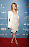 WEST HOLLYWOOD, CA - MAY 27: Actress Emma Stone attends the 'Aloha' Los Angeles premiere at The London Hotel West Hollywood on May 27, 2015 in West Hollywood, California.