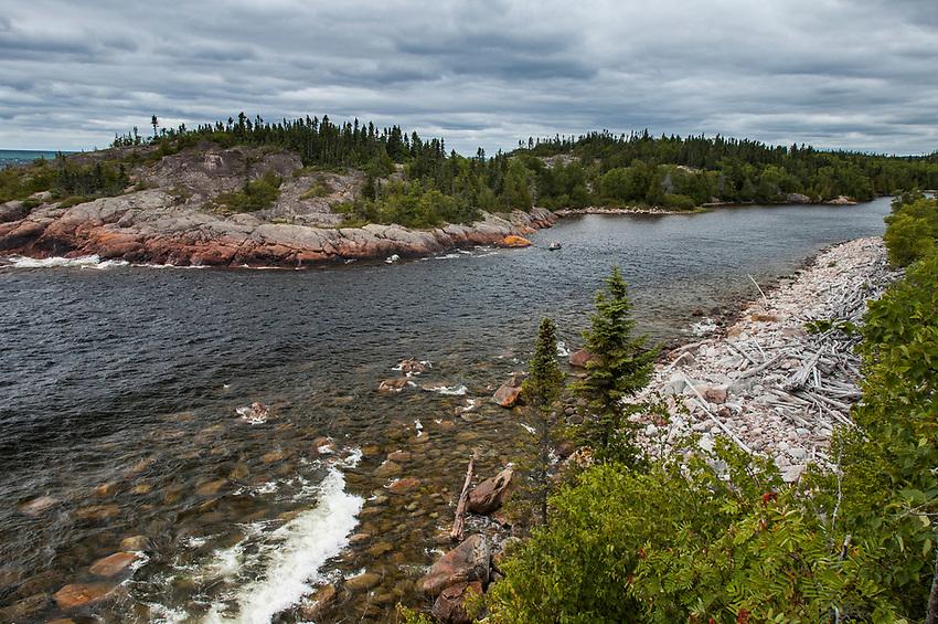 Pukaskwa National Park, Lake Superior, Ontario, Canada.