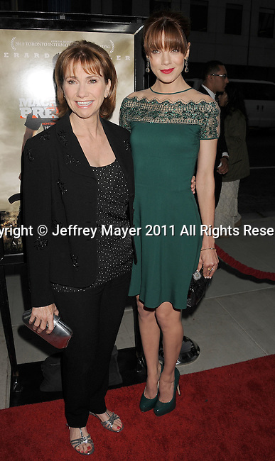 """BEVERLY HILLS, CA - SEPTEMBER 21: Kathy Baker and Michelle Monaghan  attend the """"Machine Gun Preacher"""" Los Angeles Premiere at the Academy of Television Arts & Sciences on September 21, 2011 in Beverly Hills, California."""