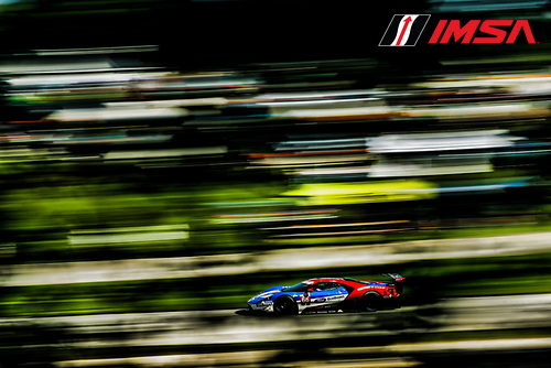 IMSA WeatherTech SportsCar Championship<br /> Continental Tire Road Race Showcase<br /> Road America, Elkhart Lake, WI USA<br /> Saturday 5 August 2017<br /> 66, Ford, Ford GT, GTLM, Joey Hand, Dirk Muller<br /> World Copyright: Michael L. Levitt<br /> LAT Images