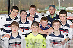 The Annuscaul team who participated at the KDYS county finals in Killarney on Sunday front row l-r:Cian Kennedy, Gearoid Sayers, Aidan Cox. Back row: Dan O'Connell, Willie Smith, John Joe Landers, Padraig Moriarty, Paul Whelehan and Paddy Daly......................