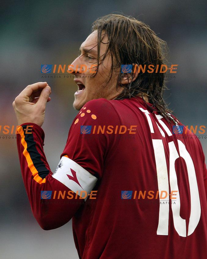 Roma 22/2/2004 <br /> Roma Siena 6-0 <br /> Francesco Totti (Roma) <br /> Photo Andrea Staccioli Insidefoto