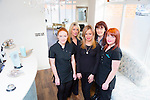 Cathair Danann Vogue Hair and Beauty on the NCR pictured Claire O'Sullivan, Michelle Lynch, Samantha Cole, Corrina Sweeney and Elaine Wrenn