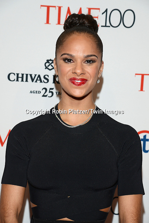 Misty Copeland attends the TIME 100 Issue celebrating the 100 Most Influential People in the World on April 21, 2015 <br /> at Frederick P Rose Hall at Lincoln Center in New York City, New York, USA.<br /> <br /> photo by Robin Platzer/Twin Images<br />  <br /> phone number 212-935-0770