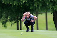 Alexander MacGregor (Addlington Court GC) on the 7th green during Round 1 of the Titleist &amp; Footjoy PGA Professional Championship at Luttrellstown Castle Golf &amp; Country Club on Tuesday 13th June 2017.<br /> Photo: Golffile / Thos Caffrey.<br /> <br /> All photo usage must carry mandatory copyright credit     (&copy; Golffile | Thos Caffrey)