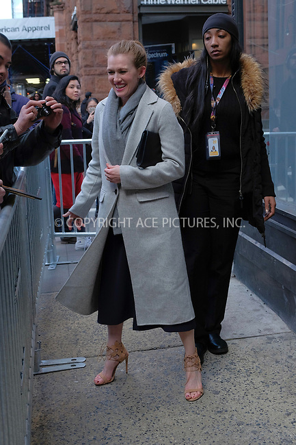 www.acepixs.com<br /> <br /> March 8 2017, New York City<br /> <br /> Actress Mireille Enos made an appearance at AOL Build on March 8 2017 in New York City<br /> <br /> By Line: Curtis Means/ACE Pictures<br /> <br /> <br /> ACE Pictures Inc<br /> Tel: 6467670430<br /> Email: info@acepixs.com<br /> www.acepixs.com