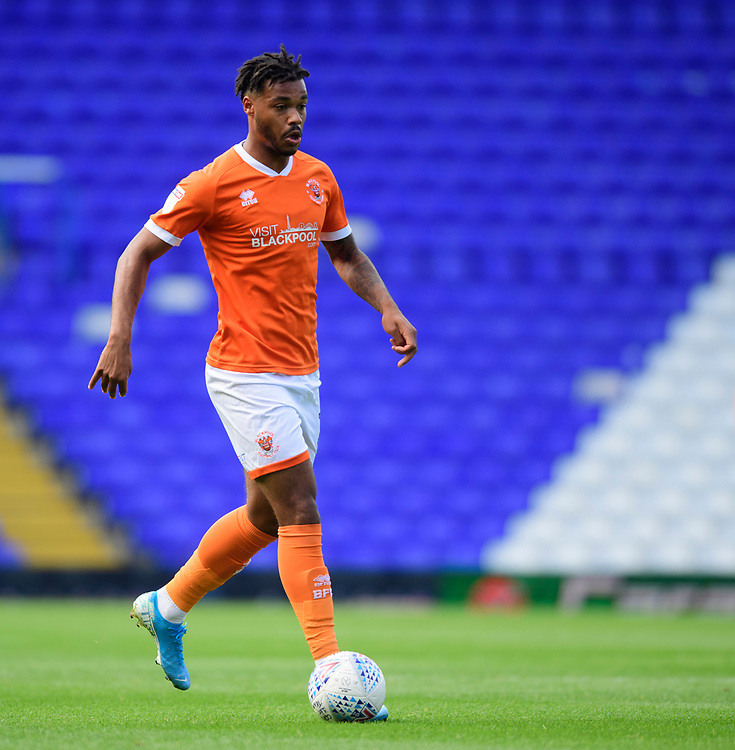 Blackpool's Joe Nuttall<br /> <br /> Photographer Chris Vaughan/CameraSport<br /> <br /> The EFL Sky Bet League One - Coventry City v Blackpool - Saturday 7th September 2019 - St Andrew's - Birmingham<br /> <br /> World Copyright © 2019 CameraSport. All rights reserved. 43 Linden Ave. Countesthorpe. Leicester. England. LE8 5PG - Tel: +44 (0) 116 277 4147 - admin@camerasport.com - www.camerasport.com