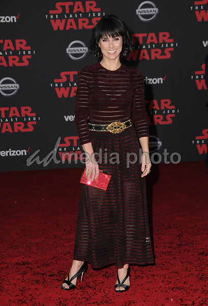 "09 December  2017 - Los Angeles, California - Constance Zimmer. Premiere Of Disney Pictures And Lucasfilm's ""Star Wars: The Last Jedi"" held at The Shrine Auditorium  in Los Angeles Photo Credit: Birdie Thompson/AdMedia"