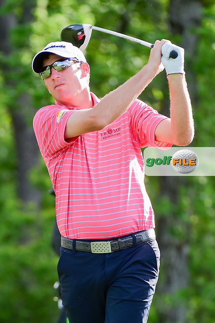 Jim Herman (USA) watches his tee shot on 13 during round 1 of the Shell Houston Open, Golf Club of Houston, Houston, Texas, USA. 3/30/2017.<br /> Picture: Golffile | Ken Murray<br /> <br /> <br /> All photo usage must carry mandatory copyright credit (&copy; Golffile | Ken Murray)