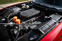 BNPS.co.uk (01202 558833)<br /> Pic: Silverstone/BNPS<br /> <br /> Mint - V12 engine.<br /> <br /> The original 'Rocketman's' Ferrari Daytona...<br /> <br /> It's gonna be a long long time before you find a better Ferrari Daytona than this one first owned by Elton John in the 1970's.<br /> <br /> A Ferrari supercar Sir Elton John bought with the proceeds of his legendary album 'Goodbye Yellow Brick Road' has emerged for sale for £475,000.<br /> <br /> The 365 GTB/4 Daytona was bought by the 'Rocketman' in 1973 following the success of his seventh studio album.<br /> <br /> The release reached number one in both the UK and America with the singer treating himself to the Ferrari to celebrate.