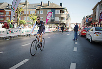Frank Schleck (LUX/Trek Factory Racing) before the start<br /> <br /> La Flèche Wallonne 2014