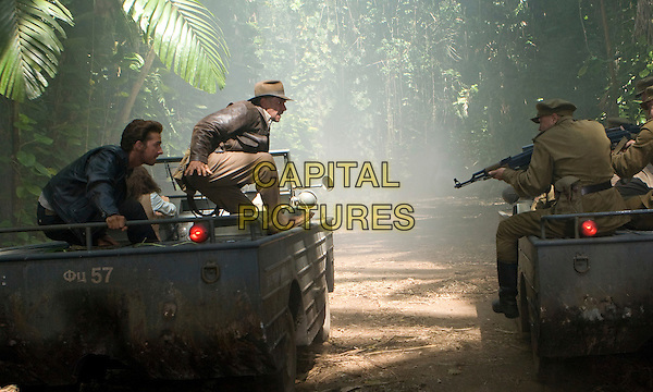 SHIA LaBEOUF, KAREN ALLEN & HARRISON FORD.in Indiana Jones and the Kingdom of the Crystal Skull.*Filmstill - Editorial Use Only*.CAP/FB.Supplied by Capital Pictures.