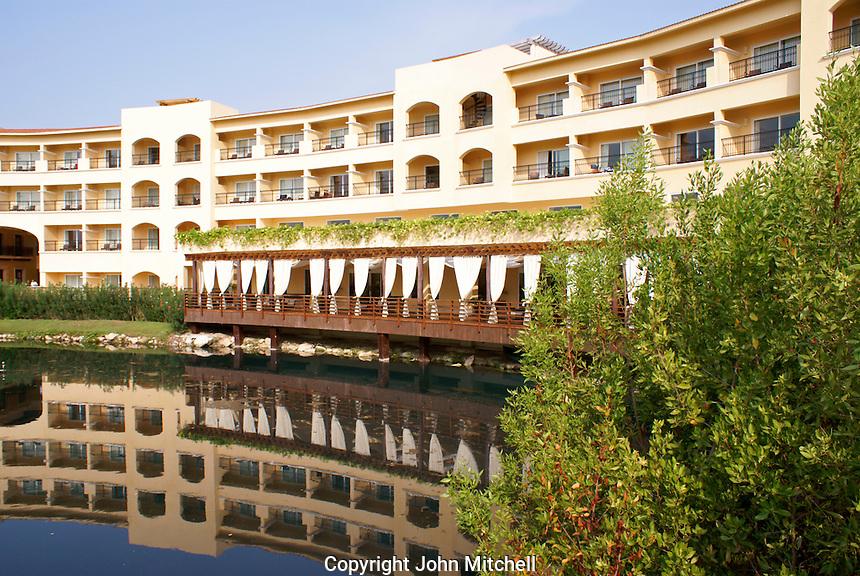 Hacienda Tres Rios, an eco-luxury resort on the Riviera Maya, Quintana Roo, Mexico..