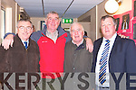 Past pupils Frank O'Donoghue, Tim Brosnan, Ted O'Connor and Niall Brosnan at the Killarney Monastry National School 50th anniversary celebrations in the school on Friday   Copyright Kerry's Eye 2008