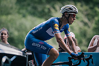 Niki Terpstra (NED/Quick Step Floors) up the final climb, 700 meters from the finish<br /> <br /> Stage 5: Lorient &gt; Quimper (203km)<br /> <br /> 105th Tour de France 2018<br /> &copy;kramon