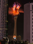 2018 fireworks by Grucci at the Stratosphere in Las Vegas Nevada