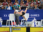 Wales Otto Putland in action during todays heats<br /> <br /> Photographer Ian Cook/Sportingwales<br /> <br /> 20th Commonwealth Games - Swimming -  Day 4 - Monday 28th July 2014 - Glasgow - UK