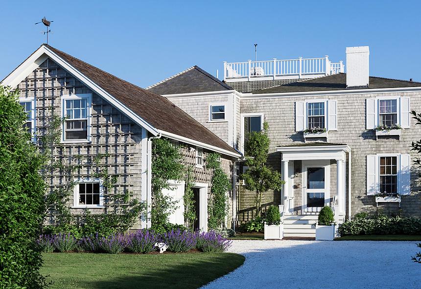 Charming home in Nantucket town, Massachusetts, USA.