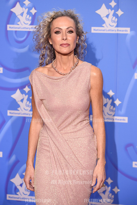 LONDON, UK. September 21, 2018: Amanda Mealing at the National Lottery Awards 2018 at the BBC Television Centre, London.<br /> Picture: Steve Vas/Featureflash