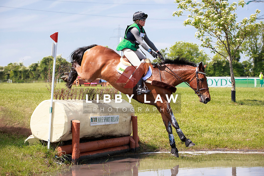 GBR-Jenny Levett (BALLYMORE RICH CAT) INTERIM-13TH: LAND ROVER CCI1* CROSS COUNTRY: 2016 IRL-Tattersalls International Horse Trial (Friday 3 June) CREDIT: Libby Law COPYRIGHT: LIBBY LAW PHOTOGRAPHY
