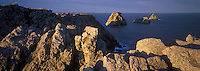 Europe/France/Bretagne/29/Finistère/Camaret : La pointe de Penhir et le tas de pois