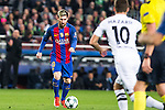 FC Barcelona's Leo Messi, VfL Borussia Monchengladbach's Thorgan Hazard  during Champions League match between Futbol Club Barcelona and VfL Borussia Mönchengladbach  at Camp Nou Stadium in Barcelona , Spain. December 06, 2016. (ALTERPHOTOS/Rodrigo Jimenez)