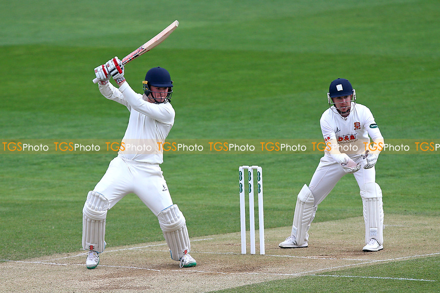 Ed Pollock in batting action for Durham during Essex CCC vs Durham MCCU, English MCC University Match Cricket at The Cloudfm County Ground on 4th April 2017