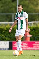 HAREN - Voetbal, FC Groningen - SM Caen, voorbereiding seizoen 2018-2019, 04-08-2018, FC Groningen speler Jeffrey Chabot