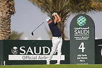 James Morrison (ENG) on the 4th tee during the 1st round of  the Saudi International powered by Softbank Investment Advisers, Royal Greens G&CC, King Abdullah Economic City,  Saudi Arabia. 30/01/2020<br /> Picture: Golffile | Fran Caffrey<br /> <br /> <br /> All photo usage must carry mandatory copyright credit (© Golffile | Fran Caffrey)