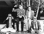 Cheap Trick 1982 Robin Zande, Rick Nielsen, Jon Brant and Bun E Carlos.© Chris Walter.