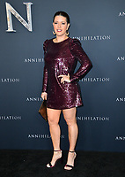 Alicia Machado at the premiere for &quot;Annihilation&quot; at the Regency Village Theatre, Los Angeles, USA 13 Feb. 2018<br /> Picture: Paul Smith/Featureflash/SilverHub 0208 004 5359 sales@silverhubmedia.com