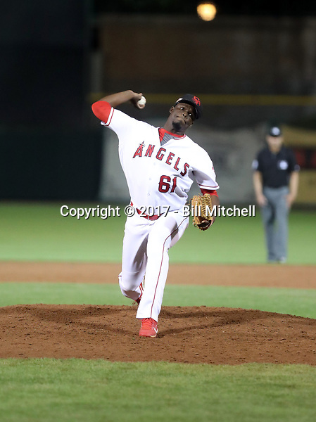 Samil De Los Santos - Scottsdale Scorpions - 2017 Arizona Fall League (Bill Mitchell)