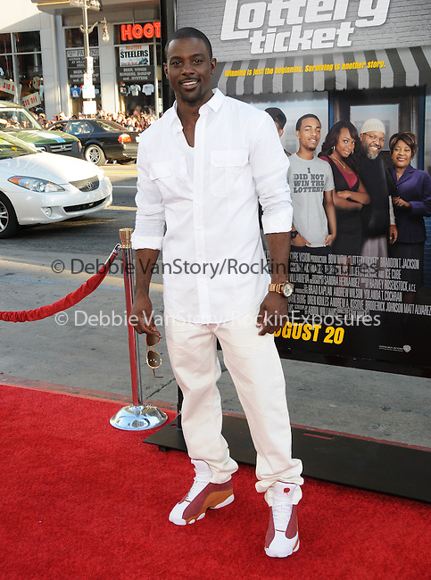 Lance Gross at the Warner Bros' Pictures World Premiere of Lottery Ticket held at The Grauman's Chinese Theatre in Hollywood, California on August 12,2010                                                                               © 2010 Debbie VanStory / Hollywood Press Agency