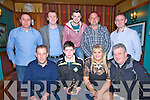 GAA: Attending the Ballyheigue GAA awards night in the White Sands Hotel, Ballyheigue on Saturday night. Front l-r: Jeremiah Slattery, Micheál Leen, Eimear O'Mahony and Brendan Dunne. Back l-r: Kevin O'Sullivan, Damian Casey, Shane Dunne, Eamon O'Sullivan and Michael Lucid.