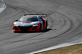 Pirelli World Challenge<br /> Intercontinental GT Challenge California 8 Hours<br /> Mazda Raceway Laguna Seca<br /> Sunday 15 October 2017<br /> Ryan Eversley, Tom Dyer, Dane Cameron, Acura NSX GT3, GT3 Overall<br /> World Copyright: Richard Dole<br /> LAT Images<br /> ref: Digital Image RD_PWCLS17_305