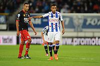 VOETBAL: HEERENVEEN: Abe Lenstra stadion 23-08-2014, SC Heerenveen - Excelsior uitslag 2 - 0, Jeroen Lumu, ©foto Martin de Jong